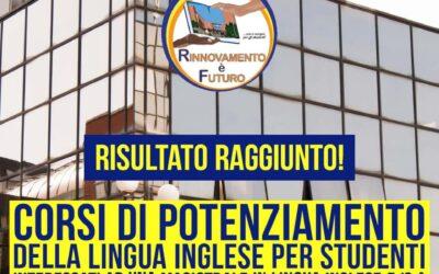 Centro Linguistico di Ateneo, call per l'iscrizione a percorsi formativi di Lingua Inglese B2